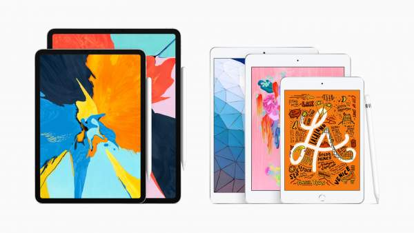 New iPad air and iPad mini with Apple Pencil 600x338 - Apple ra mắt iPad Air 10,5 inch, chip A12, hỗ trợ bút cảm ứng Apple Pencil