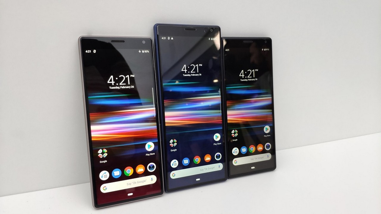 Launcher Sony Xperia 10 cho điện thoại Xperia chạy Android Pie 16