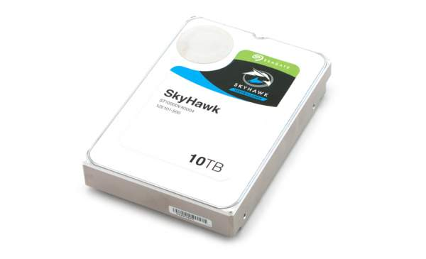 StorageReview Seagate SkyHawk 10TB 600x365 - Seagate ra mắt loạt ổ cứng mới