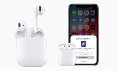 """apple airpods 400x240 - Apple AirPods 2 ra mắt: chip H1 hỗ trợ """"Hey Siri"""", sạc không dây, giá từ 3.69 triệu đồng"""