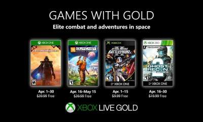 Games with Gold tháng 4/2019