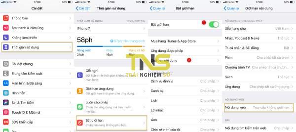 iOS12 600x267 - Cách chặn trang web trong Safari trên iPhone, iPad