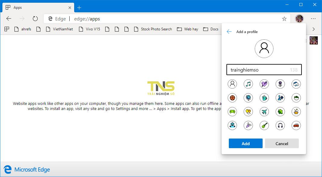 microsoft edge 75 3 - Mời bạn tải về và trải nghiệm Microsoft Edge nhân Chromium