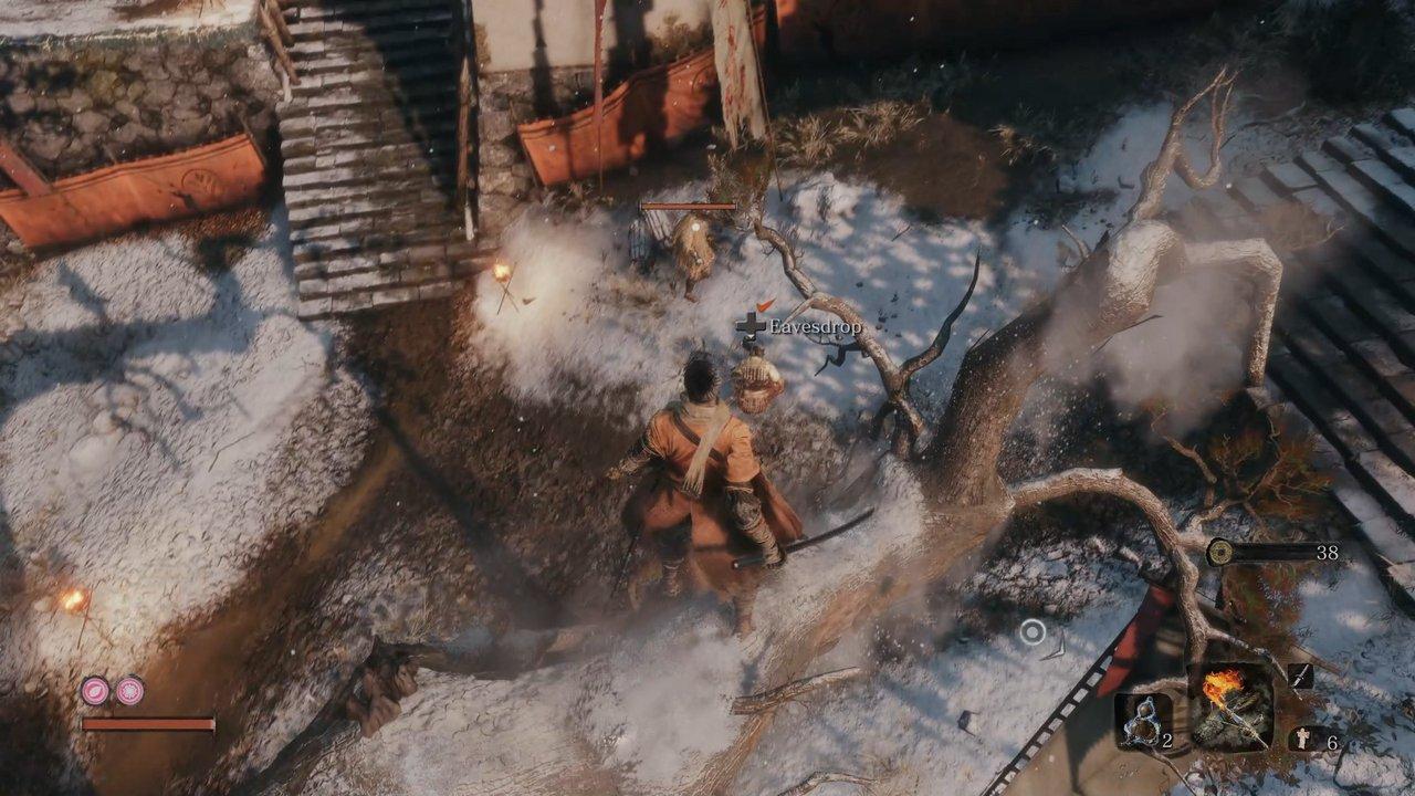 Kinh nghiệm đánh boss Chained Ogre trong Sekiro