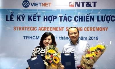 1 400x240 - Vietnet ký kết chiến lược cùng NT&T