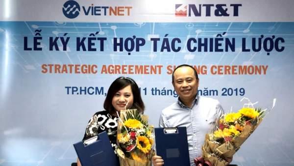 1 600x338 - Vietnet ký kết chiến lược cùng NT&T