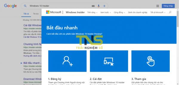 Dùng Google Results Previewer xem trước trang web khi tìm kiếm trên