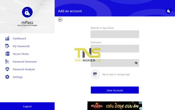 2019 04 04 14 22 06 600x376 - mPass: Lưu giữ mật khẩu web, ghi chú,... an toàn trên Windows 10, Android, iOS