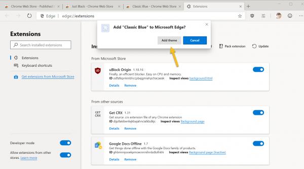 2019 04 15 10 12 10 600x334 - Thêm cách cài đặt, gỡ bỏ theme Chrome trên Microsoft Edge Chromium