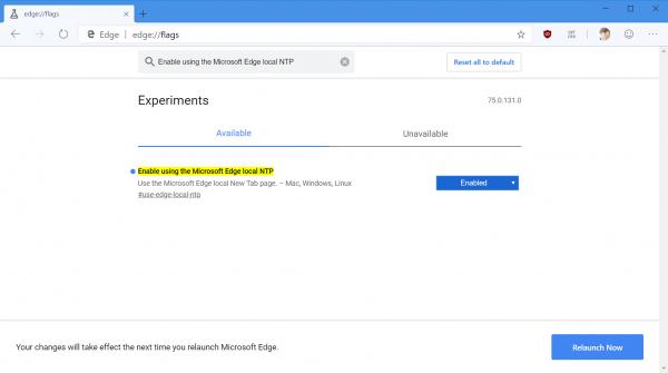 2019 04 19 10 36 40 600x335 - Cách bật giao diện tùy chỉnh thứ năm cho Microsoft Edge Chromium