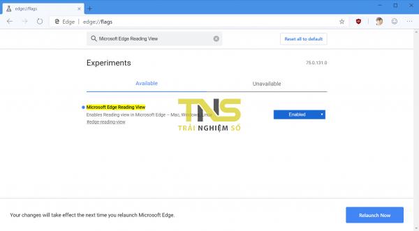 2019 04 20 10 22 32 600x331 - Cách bật Reading View trên Microsoft Edge Chromium