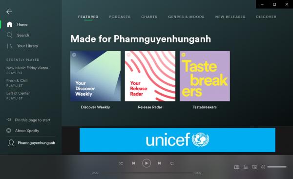 2019 04 22 14 49 27 600x367 - Xpotify: Ứng dụng nghe nhạc Spotify nhỏ gọn cho Windows 10