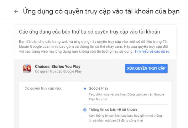 2019 04 24 15 12 58 600x408 - Cách truy cập và gỡ bỏ ứng dụng, dịch vụ đã kết nối với Google, Microsoft