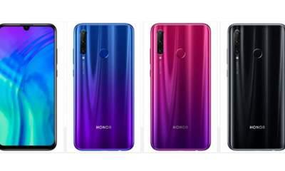 Honor 20i featured 400x240 - Honor tung smartphone tầm trung 20i, giá từ 5,6 triệu đồng