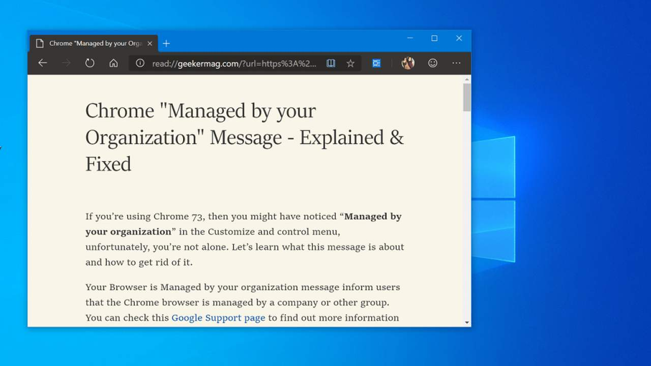 Reading View featured - Cách bật Reading View trên Microsoft Edge Chromium