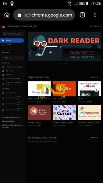 Screenshot 20190418 112619 338x600 - Dùng thử extension Chrome trên Kiwi Browser