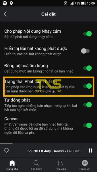 Screenshot 20190428 100931 338x600 - Tắt âm thanh quảng cáo Spotify tự động trên Android