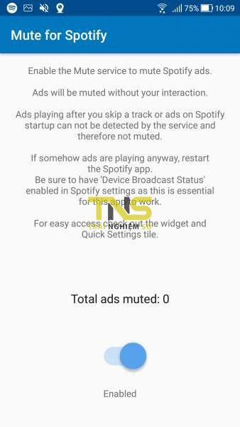 Screenshot 20190428 100939 338x600 - Tắt âm thanh quảng cáo Spotify tự động trên Android