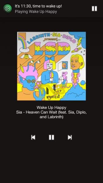 Screenshot 20190429 113009 338x600 - Báo thức với nhạc Spotify trên Android