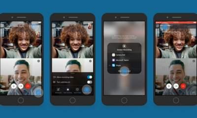 chia se man hinh skype featured 400x240 - Cách chia sẻ màn hình thiết bị iOS và Android bằng Skype