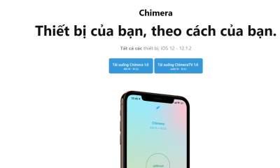 chimera jailbreak featured 400x240 - Chimera jailbreak - công cụ jailbreak iOS 12 của Electra team, hỗ trợ chip A12(X)