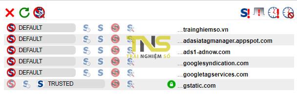 chrome noscript 1 - Tiện ích mở rộng nổi tiếng NoScript đã có cho Chrome