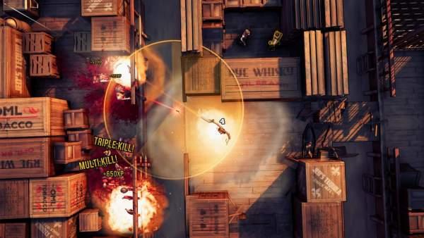 gods trigger screenshot 2 600x338 - Đánh giá game God's Trigger - thiên thần và ác quỷ