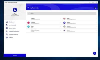 mPass featured 400x240 - mPass: Lưu giữ mật khẩu web, ghi chú,... an toàn trên Windows 10, Android, iOS