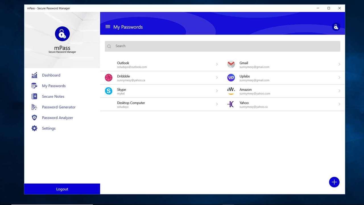 mPass featured - mPass: Lưu giữ mật khẩu web, ghi chú,... an toàn trên Windows 10, Android, iOS
