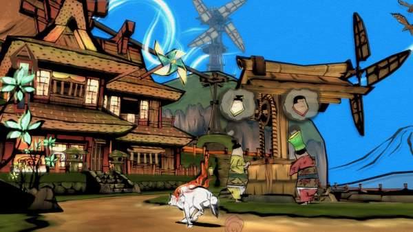 okami hd screenshot 2 600x338 - Đánh giá game Okami HD