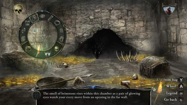 shadowgate remake switch screenshot 1 600x338 - Đánh giá game Shadowgate - bản làm lại nhiều ấn tượng tốt