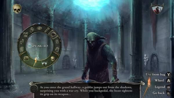 shadowgate remake switch screenshot 2 600x338 - Đánh giá game Shadowgate - bản làm lại nhiều ấn tượng tốt