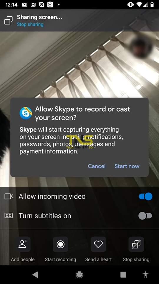 skype screen sharing android 3 - Cách chia sẻ màn hình thiết bị iOS và Android bằng Skype