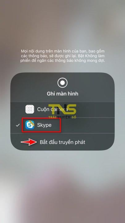 skype share screen ios 3 - Cách chia sẻ màn hình thiết bị iOS và Android bằng Skype
