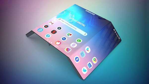 smartphone gap samsung 600x338 - Samsung sắp có thêm smartphone gập 13 inch?