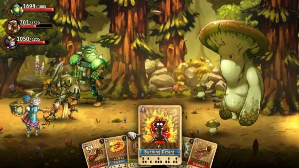 steamworld quest hand of gilgamech switch screenshot 3 600x338 - Đánh giá game SteamWorld Quest: Hand of Gilgamech