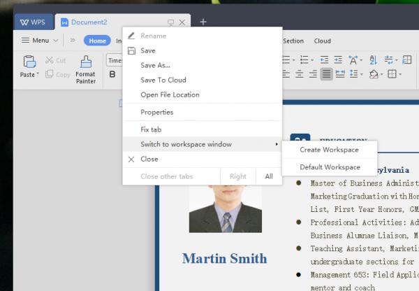 2019 05 01 15 52 08 600x416 - WPS Office 2019: Bộ ứng dụng văn phòng tuyệt vời cho Windows 10