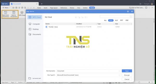 2019 05 01 16 26 11 600x326 - WPS Office 2019: Bộ ứng dụng văn phòng tuyệt vời cho Windows 10
