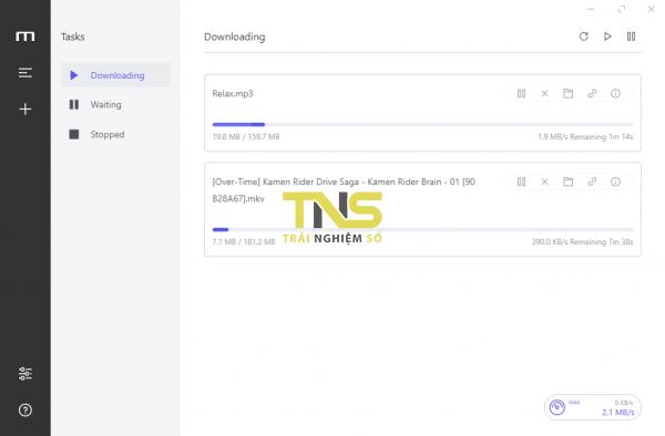 Cách dùng Motrix tải file như IDM trên Windows 10 3