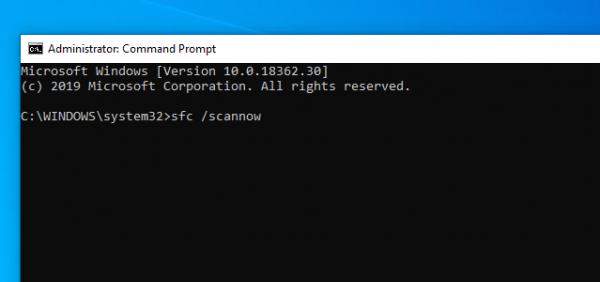 """2019 05 09 15 35 36 600x282 - Làm gì khi gặp lỗi """"Your Start menu isn't working..."""" khi mở trình đơn Start Windows 10"""