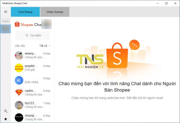 2019 05 11 16 20 28 1 600x410 - Trò chuyện, theo dõi đơn bán hàng của nhiều tài khoản Shopee trên Windows 10