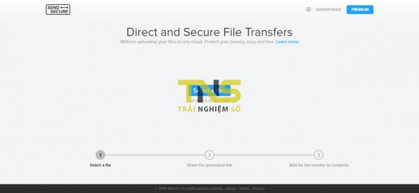 2019 05 14 13 51 16 600x277 - Dùng Send Secure chia sẻ file tức thời theo dạng mạng ngang hàng
