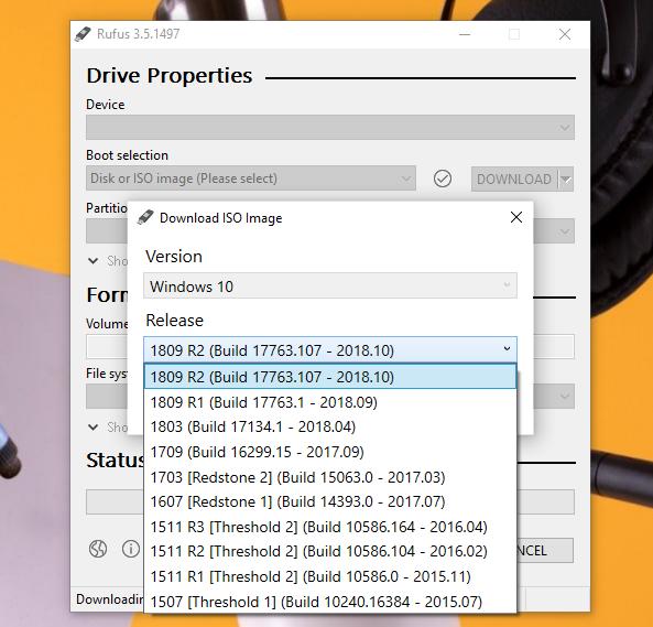 Tổng hợp cách tải ISO cài đặt Windows 10 version 1903
