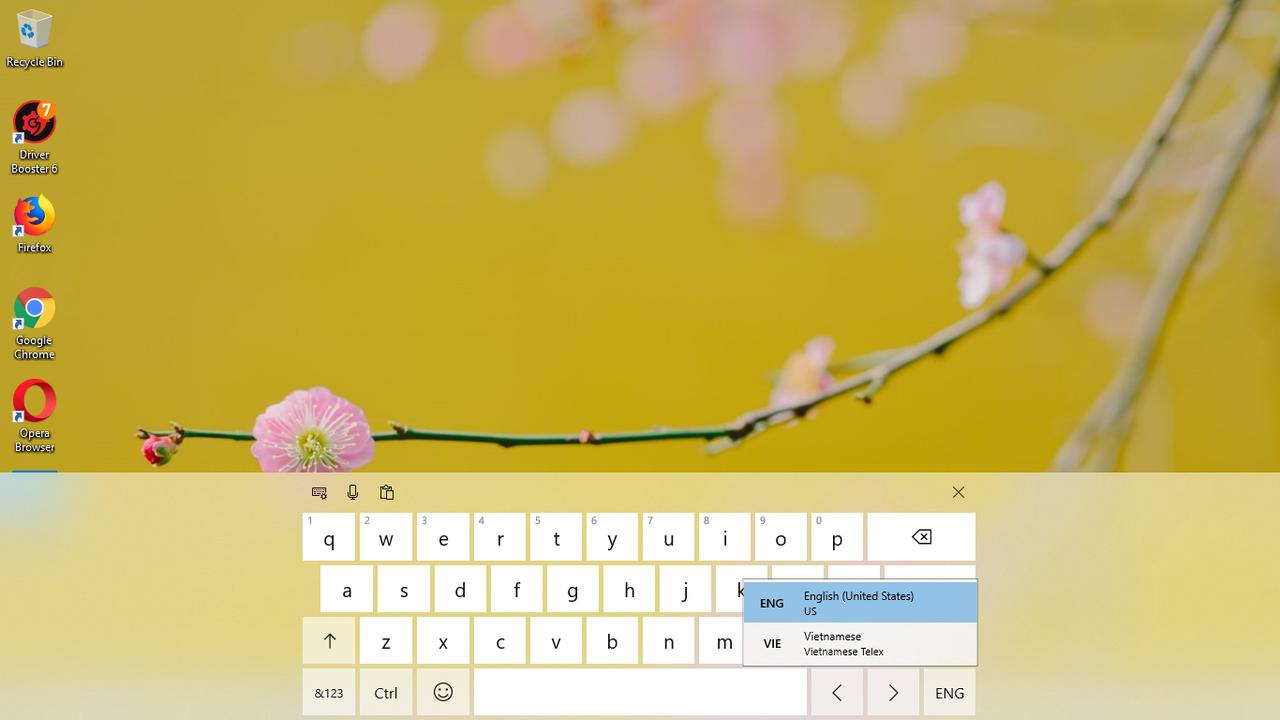 Cách bật bộ gõ tiếng Việt - TELEX & VNI trên Windows 10