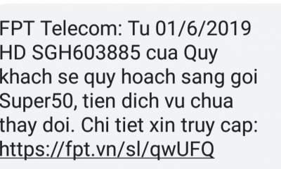 Screenshot 20190523 085830 400x240 - FPT Telecom tự ý chuyển gói cước khiến khách hàng bức xúc