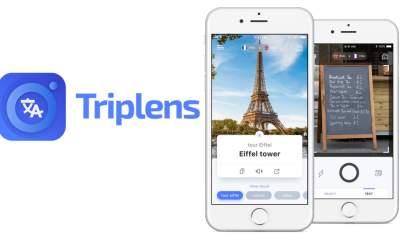 Triplens featured 400x240 - TripLens: Trình dịch hình ảnh vật thể, văn bản cho iOS và Android