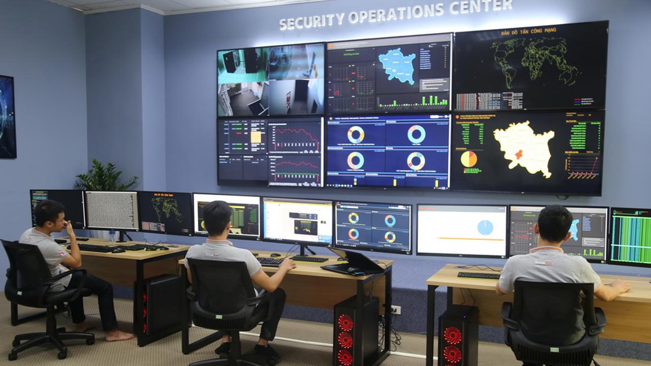 TrungtamSOC - Khai trương Trung tâm điều hành an ninh mạng SOC tại Thái Bình