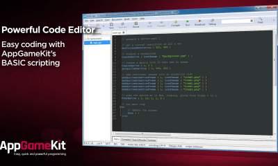 appgamekit featured 400x240 - Đang miễn phí ứng dụng phát triển game AppGameKit, mời bạn tải về