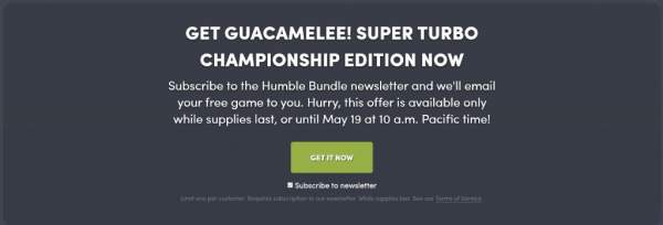 guacamelee stc edition free humble bundle 600x204 - Đang miễn phí game Guacamelee! Super Turbo Championship Edition