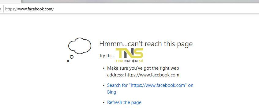 hosts file 4 - Cách chặn một trang web trên Microsoft Edge